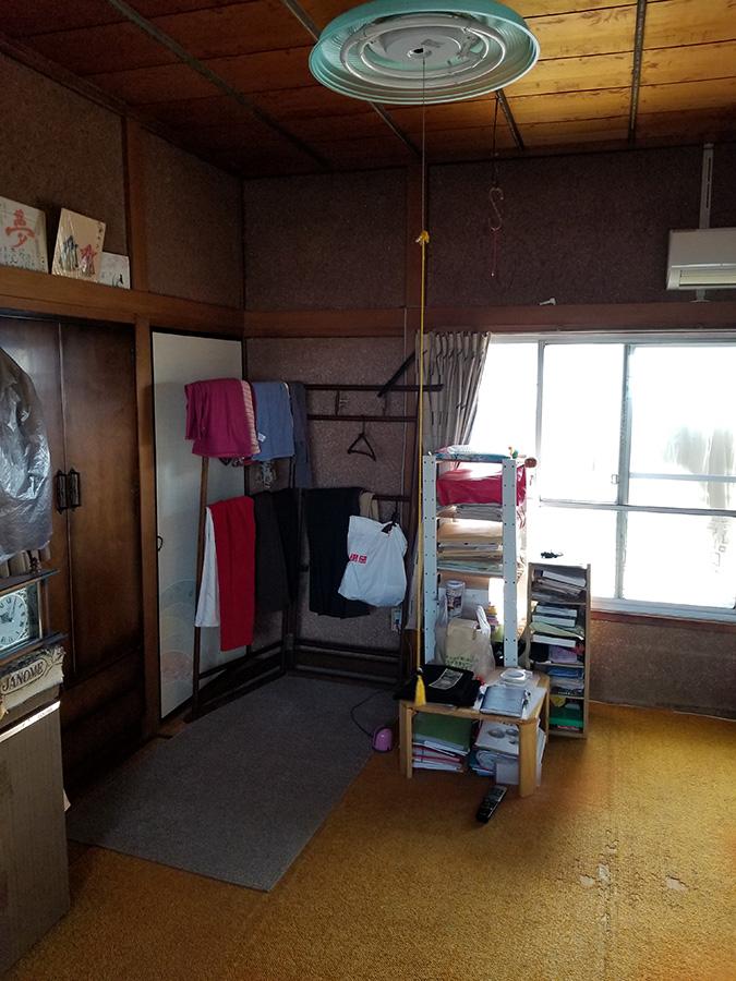 松山市 和室→洋室改修工事