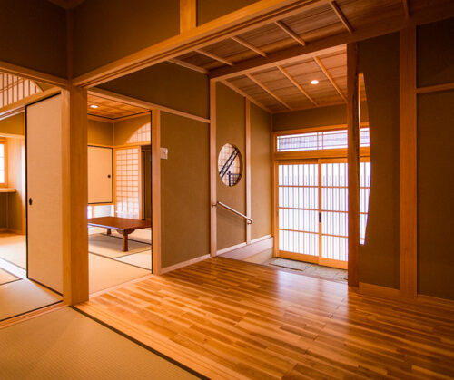 松山市 I様邸 無垢の香りと京の町家風情があふれる家