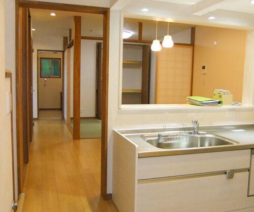 松山市 築70年を超える住宅のリノベーション工事