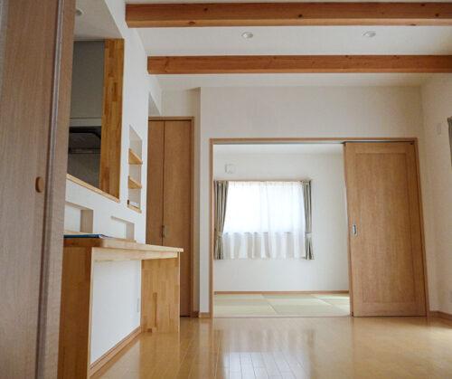 松山市 M様邸 シンプルナチュラルなお家