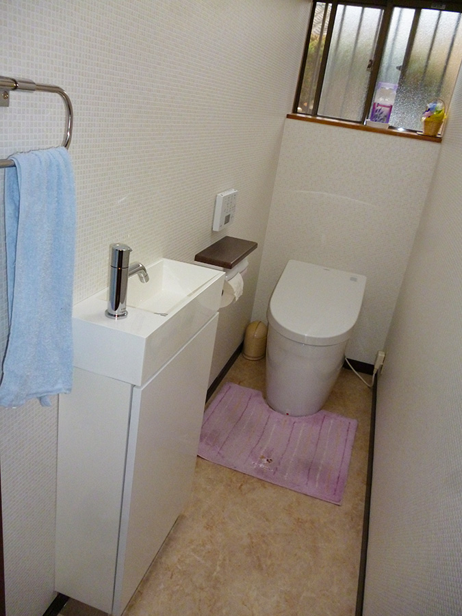 松山市 トイレ改修工事