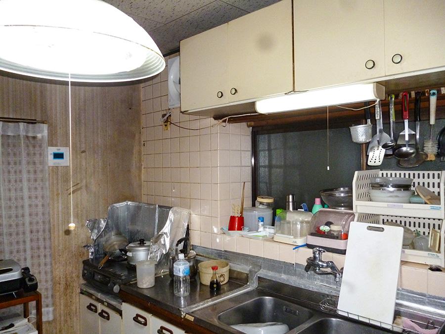 松山市 キッチン改修工事2