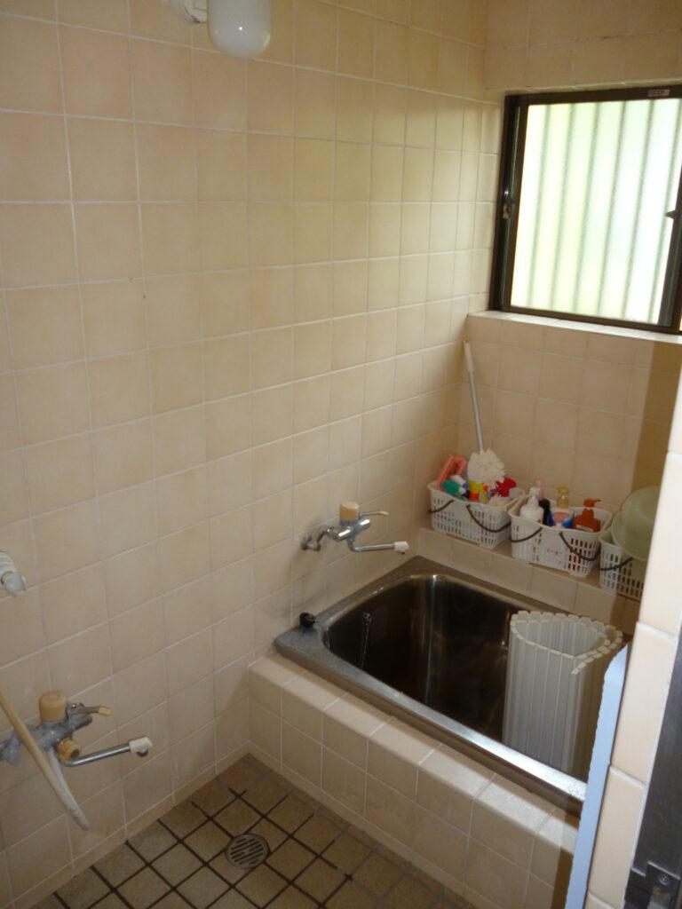 松山市 在来浴室→ユニットバス拡張リフォーム