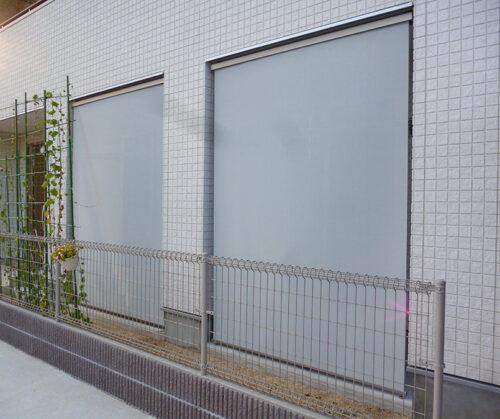 松山市 スタイルシェード取付工事