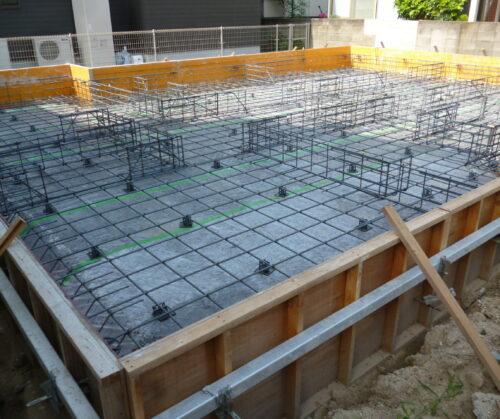 松山市 平屋建て新築工事①